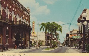 YBOR CITY , Florida , 1950-60s; E. Broadway in the Heart of Tampa's Latin Qua...