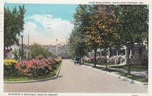 Excelsior Springs , Missouri , 1937 ; Elm Boulevard