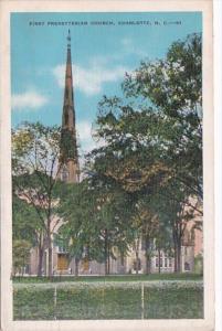 North Carolina Raleigh First Presbyterian Church 1936