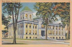 New Hampshire Concord State Library
