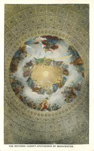 Rotunda Canopy - Apotheosis of Washington - Washington, DC - WB