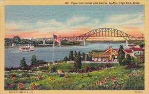 Massachusetts Cape Cod Canal And Bourne Bridge