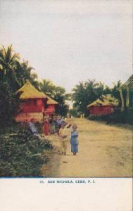 Children, San Nichola, Cebu, Philippines, 1900-1910s