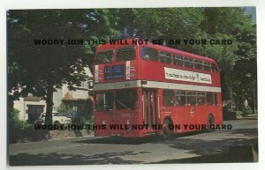tm123 - London Transport Bus No XA 36 - postcard