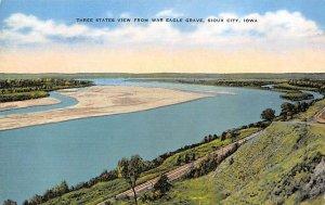 Three States View War Eagle Grave Sioux City, Iowa