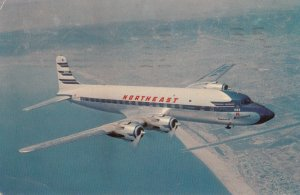 NORTHEAST Airlines Sunliner Airplane 1957