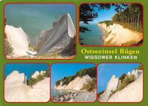 Ostseeinsel Ruegen Wissower Klinken Cliffs Sea Landscape