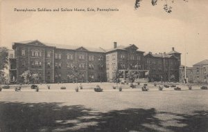 ERIE , Pennsylvania , 1900-10s ; Pennsylvania Soldiers & Sailors Home