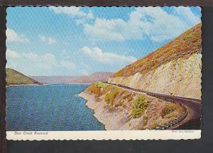 Deer Creek Reservoir  UT Postcard BIN