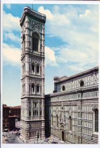 Italy Firenze Giotto Campanile Florence Church Postcard