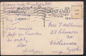 Genealogy Postcard- Family History - Williams - Withernsea - Yorkshire  BH5186