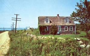 RI - Block Island, One of the Oldest Homes on the Island