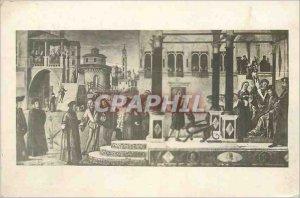 Modern Postcard Venezia S Giorgio degli Schiavoni V Carpaccio