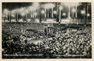 Österreich Wien Austria  Deutsches Sängerbundesfest 1928