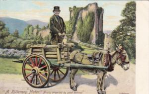 Ireland A Killarney Motor Domkey Cart