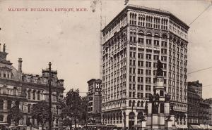 DETROIT, Michigan, 1908 ; Majestic Building