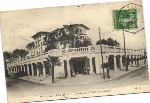 CPA HENDAYE Galeries de l'Hotel ESKUALduna (171958)