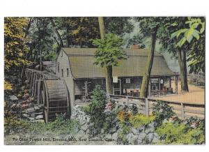 Ye Olde Mill Erected 1650 London Connecticut Located at base of Groton