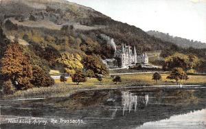 Scotland, UK Old Vintage Antique Post Card Hotel and Loch Achray The Trossach...