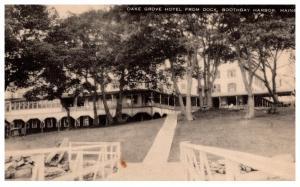 Maine  Boothbay harbor , Oak Grove Hotel