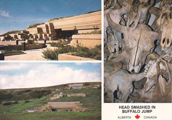 Canada Head Smashed In Buffalo Jump Interpretive Centre Fort MacLeod Alberta
