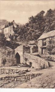 England Clovelly Entrance To Village