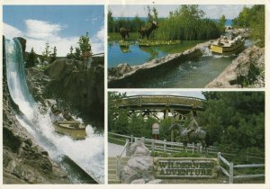 TORONTO , Ontario, 50-60s ; Ontario Place #3 ; Water slides