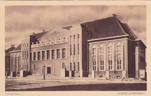 Handels-Schule, Hagenau, Alsace, France,10-20s