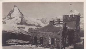 RP, Station Du Gornergrat (3136 m.) & Le Cervin (4482 m.), Switzerland, 1920-...