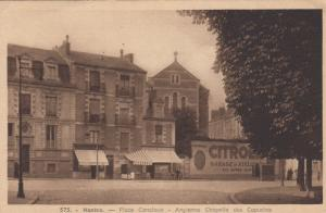 NANTES, France, 1910-20s; Place Canclaux, Ancienne Chapelle Des Capucins