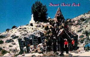 California Yucca Valley Desert Christ Park