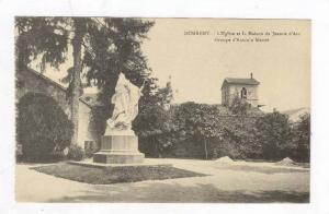 L'Eglise Et La Maison De Jeanne d'Arc, Groupe d'Antonin Mercie, Domremy (Vosg...