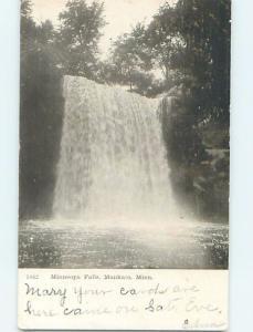 Pre-1907 WATERFALL SCENE Mankato Minnesota MN A1295