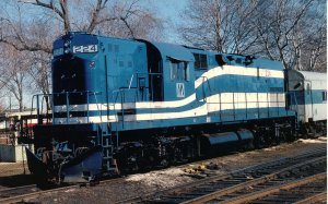 Trains - ALCO C420 #224, Long Island Railroad. (railroad cards.com)