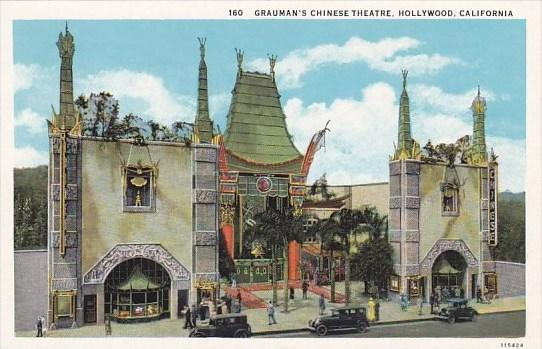 California Hollywood Graumans's Chinese Theatre