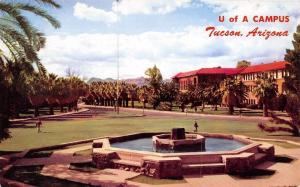 Tucson University of Arizona~Wishing Well~Library~College of Education 1950s