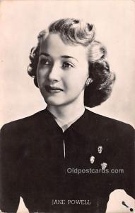 Jane Powell Movie Star Actor Actress Film Star Postcard, Old Vintage Antique ...