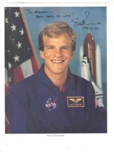 Astronaut Scott Edward Parazynski autographed 8x10 photo