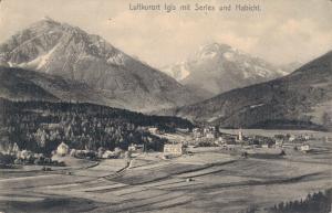 Austria Luftkurort Igls mit Serles und Habicht 02.46
