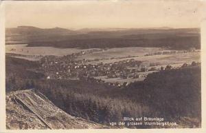 RP, Blick Auf Braunlage Von Der Grossen Wurmbergklippe, Lower Saxony, Germany...
