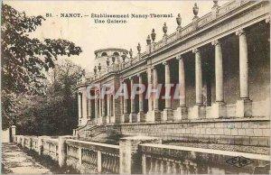 Postcard Old Nancy Nancy Thermal Establishment A Gallery