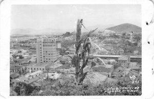 RPPC Vista al centro de Nogales, Sonora, Mexico 1960 Vintage Postcard