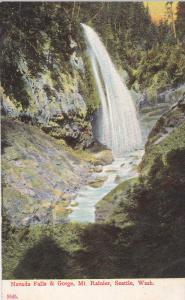 Narada Falls & Gorge, Mt. Rainier, SEATTLE, Washington, 1900-1910s