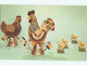 Pre-1980 This Is A Postcard SNACKAROO CHICKEN BY NATIONAL HANDCRAFT AC7289