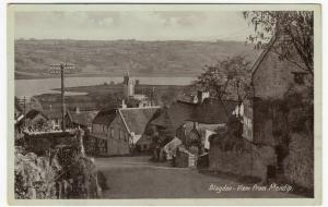 Somerset; Blagdon, View From Mendip PPC, 1938 PMK, To Miss Hicks, Perry Bar