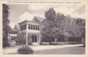 Kentucky Lyndon Keen Johnson Building For Girls Kentucky Childrens Home Artvue