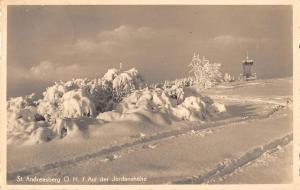 BG36589 st andreasberg o h auf der jordanshohe real photo   germany