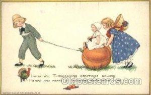Artist Samuel Schmucker, Thanksgiving Unused