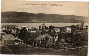 CPA De PONTARLIER a MOUTHE - MALBUISSON (183148)