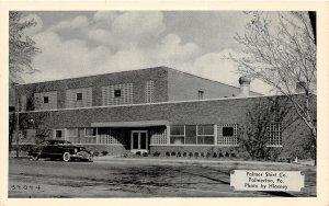 G9/ Palmerton Pennsylvania Postcard c1940s Shirt Company Factory Auto